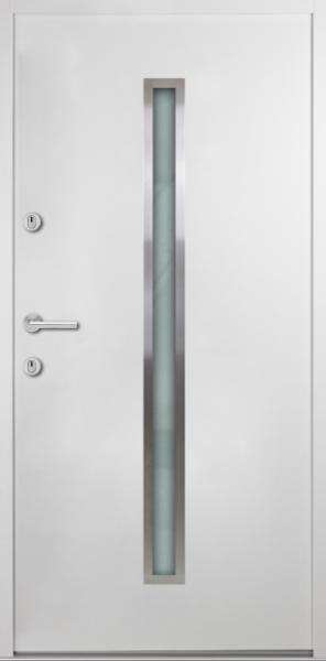 """Aluminium-Stahl Nebeneingangstür """"SAMIA"""" 56 mm"""