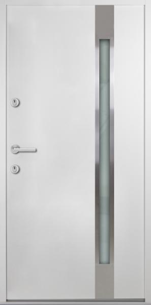 "Aluminium-Stahl Nebeneingangstür ""LIDEJA"" 56 mm"