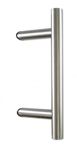 Stoßgriff Edelstahl (Silber, 40cm)