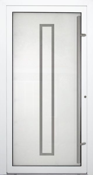 "Aluminium Glas Haustür ""KATE"" 90mm"