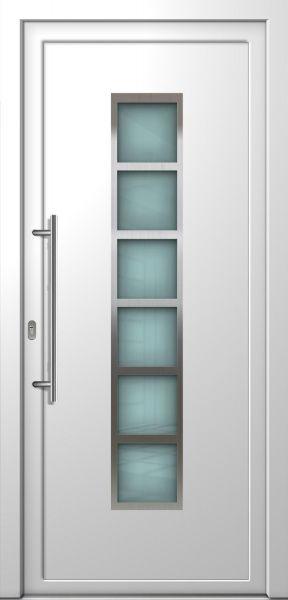 """Haustür """"MILENA-K"""" 70mm (PVC, Weiß , Anthrazit oder Golden Oak)"""