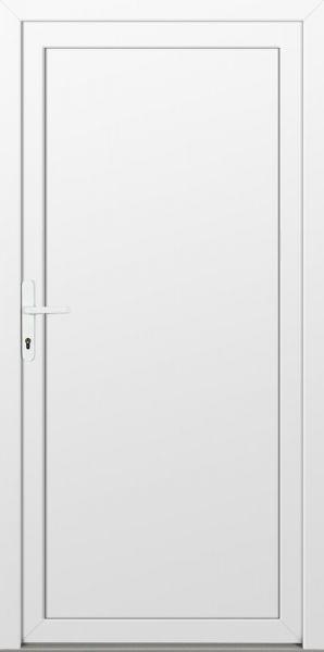 """LAGER Kunststoff Nebeneingangstür """"DIANA-Q"""" 60mm Weiß"""