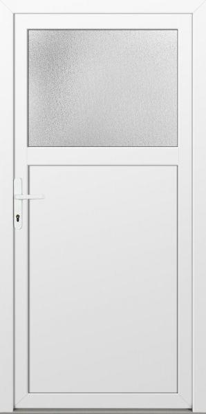 """LAGER Kunststoff Nebeneingangstür """"ANTONIA-Q"""" 70mm Weiß"""
