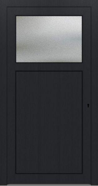 "LAGER Kunststoff Nebeneingangstür ""ANTONIA"" 70mm Anthrazit"