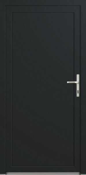 """LAGER Kunststoff Nebeneingangstür """"DIANA-Q"""" 70mm Anthrazit"""