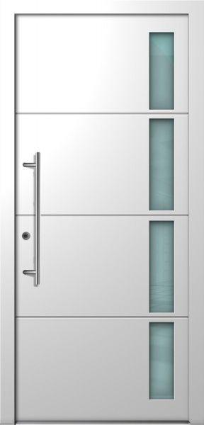 "Haustür ""RHEA"" 75mm (ELEGANCE, ALU, verschied. Farben)"