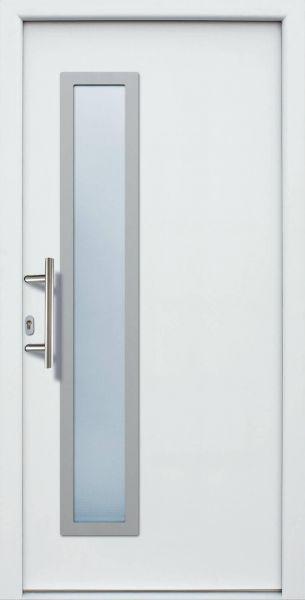 "Haustür ""KIM"" 60mm (ALU, Anthrazit, Grau oder Weiß)"
