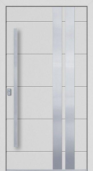 """Aluminium Haustür """"LEONIE"""" 77mm flügelüberdeckend RC2"""