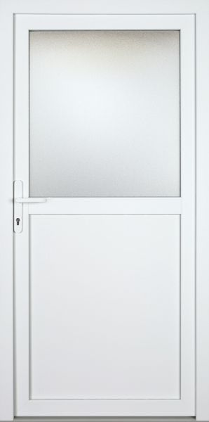 "Kunststoff Aluminium Nebeneingangstür ""PAULA-M"" 70mm"