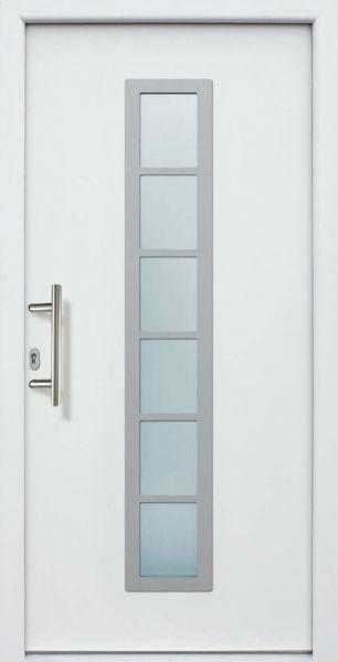 """Haustür """"ANGELINA"""" 60mm (ALU, Anthrazit, Grau oder Weiß)"""