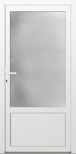 """Nebeneingangstür """"CELINE"""" 60mm (PVC, glatt, Weiß, Anthrazit oder Golden Oak)"""